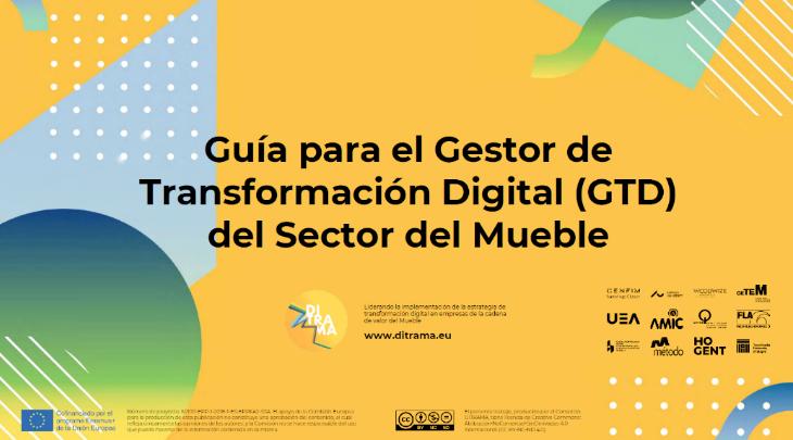 Publicada la Guía para el Gestor de Transformación Digital (GTM) del Sector Mueble