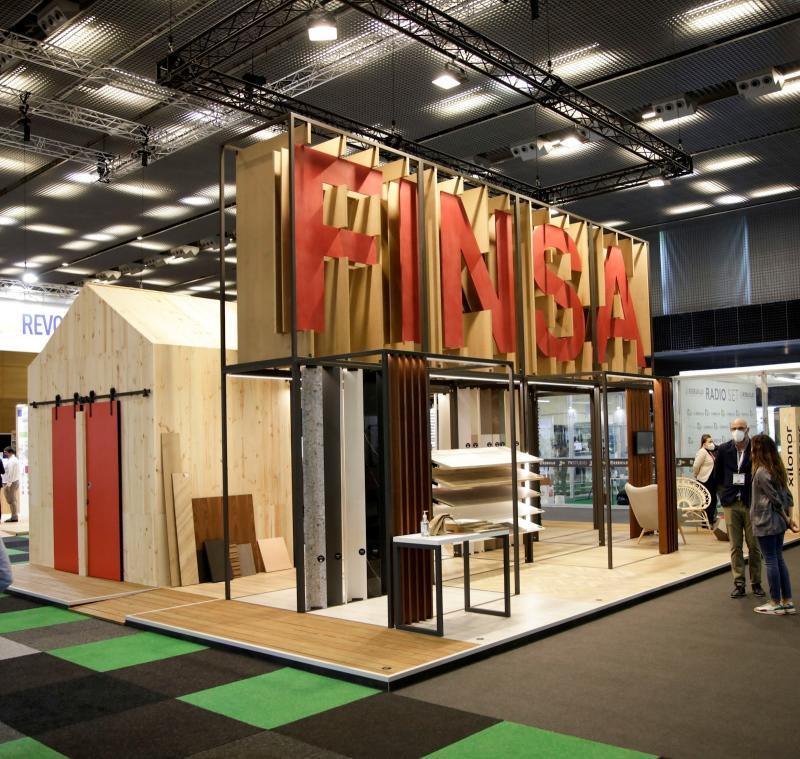 Nuevas superficies decorativas de FINSA en REBUILD 2021
