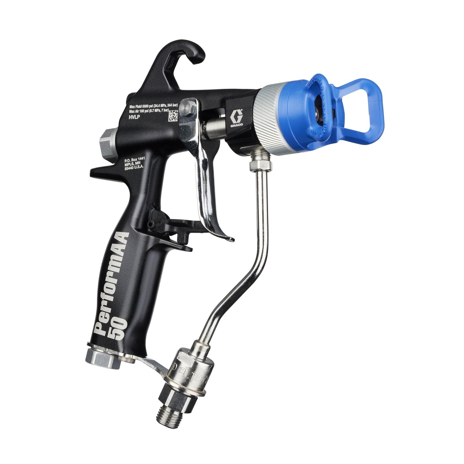 Nuevas pistolas de pulverización manuales y automáticas PerformAA de GRACO