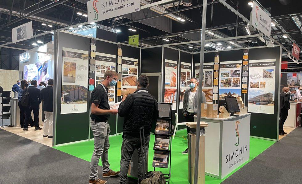 SIMONIN exhibió en REBUILD sus soluciones de madera para la construcción