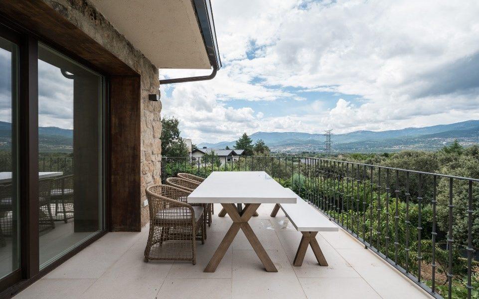 CARPINTEK participa en una reforma residencial en la sierra de Madrid