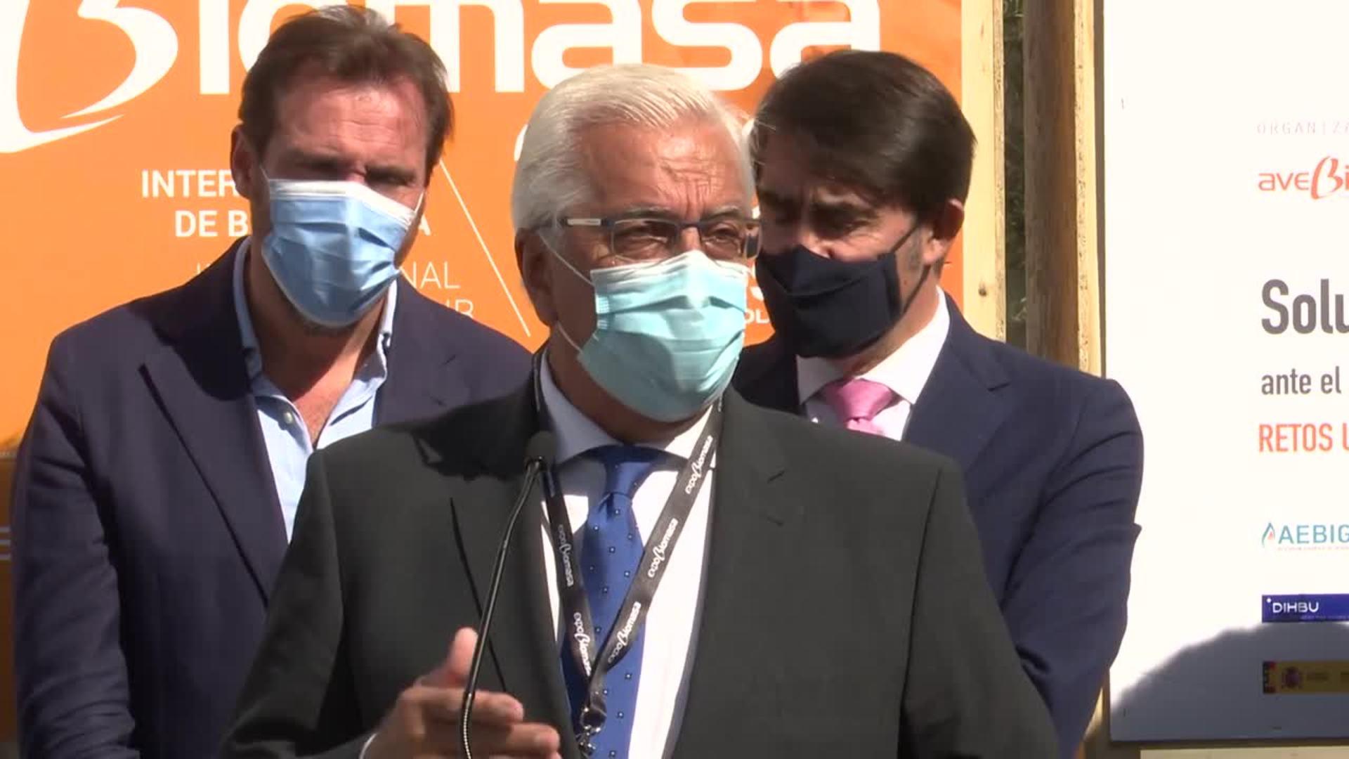 """Javier Díaz: """"El sector de la biomasa se encuentra en cifras récord"""""""