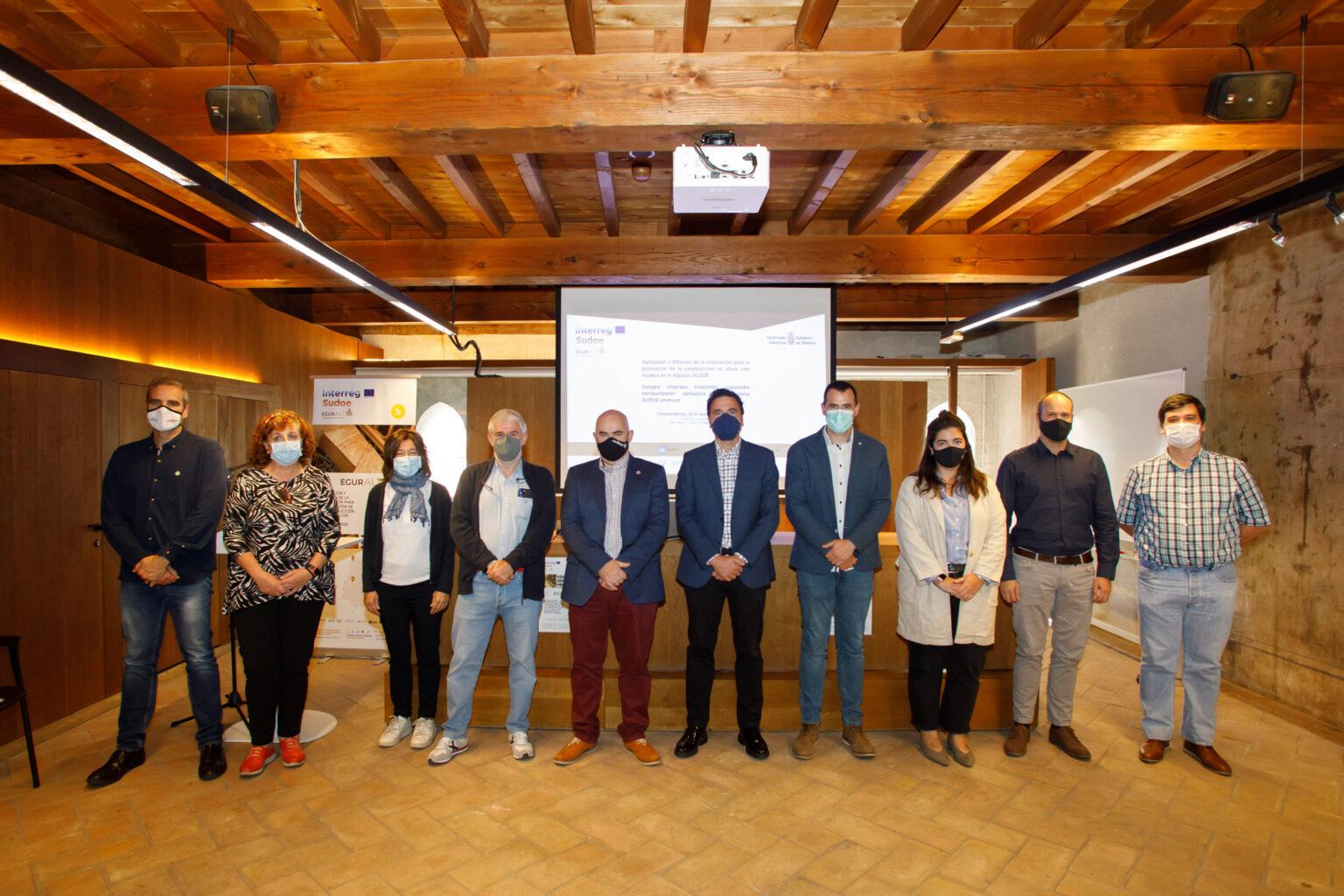 ADEMAN en la presentación oficial en Pamplona del Proyecto europeo EGURALT