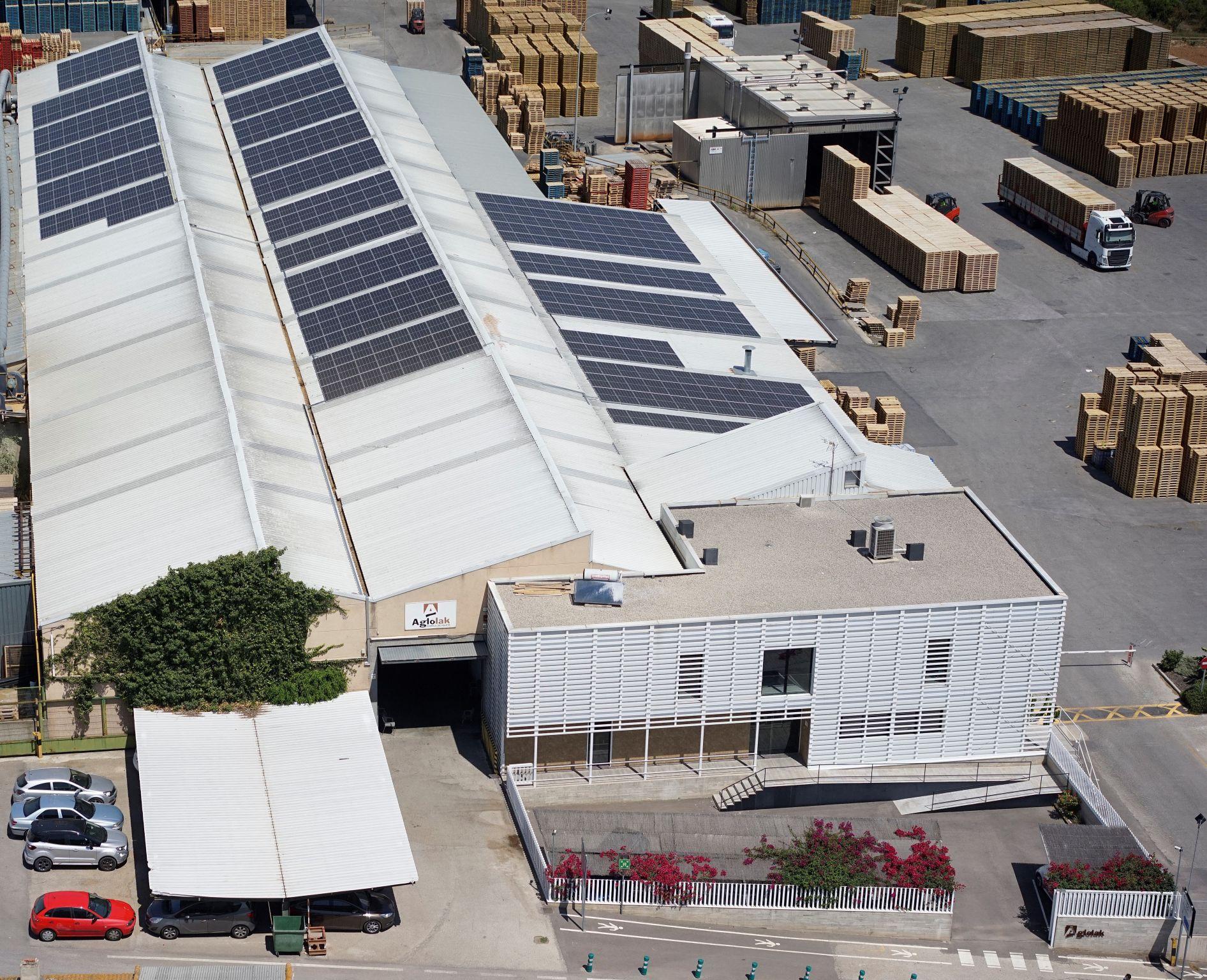 AGLOLAK apuesta por la energía solar