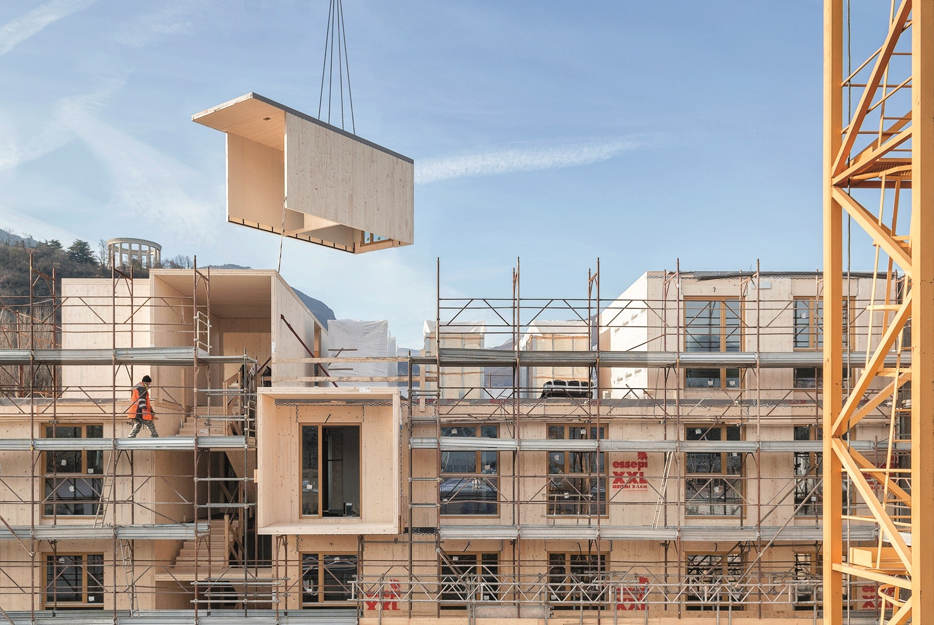 La re-evolución de la construcción con XLAM DOLOMITI